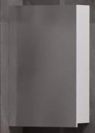 Corozo Зеркало-шкаф Комо 40 белое