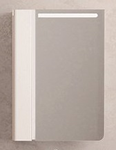 Velvex Зеркальный шкаф Crystal Cub 60 белый