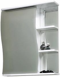 СанТа Зеркальный шкаф Волна 55 L