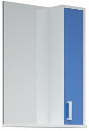 Corozo Зеркало-шкаф Колор 50 синее