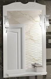 Opadiris Зеркало для ванной Клио 65 белый матовый