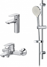 Am.Pm Набор смесителей для ванны Gem F40990A00 с душевым гарнитуром