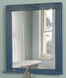 Атолл Зеркало Милана синий