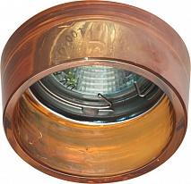 Feron Встраиваемый светильник CD2720 красный, хром