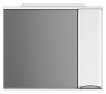 Am.Pm Зеркало-шкаф Like 80 R, белый глянец
