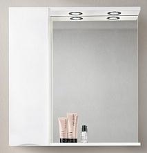 BelBagno Зеркало-шкаф MARINO-SPC-900/750-1A-BL-P-L Bianco Lucido
