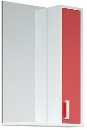 Corozo Зеркало-шкаф Колор 50 красное
