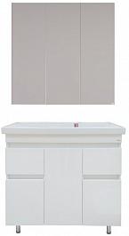 Misty Мебель для ванной Фостер 80 с 2 ящиками