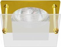Feron Встраиваемый светильник BS3159-P2-8 золото