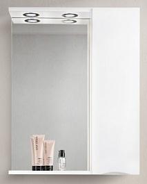 BelBagno Зеркало-шкаф MARINO-SPC-600/750-1A-BL-P-R Bianco Lucido