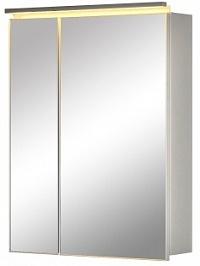 De Aqua Зеркало-шкаф для ванной Алюминиум 80 (AL 504 080 S) серебро