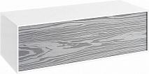 Aqwella Тумба подвесная Genesis 100 миллениум серый