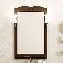 Opadiris Зеркало для ванной Клио 65 орех антикварный