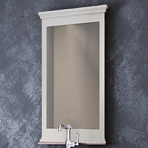 Opadiris Зеркало для ванной Палермо 50 белое