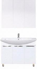 Misty Мебель для ванной Лаванда 80 прямая