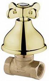 Webert Вентиль запорный Ottocento OT690101010 золото