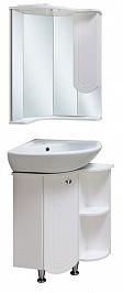 Runo Мебель для ванной Бис R угловая