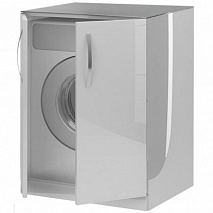 De Aqua Шкаф для стиральной машины Трио Люкс