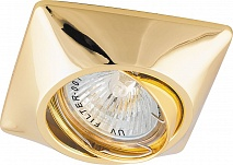 Feron Светильник встраиваемый DL6046 потолочный MR16 G5.3 золото