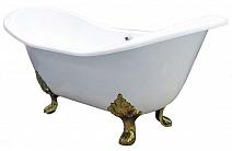 "Elegansa Чугунная ванна ""Taiss Gold"""
