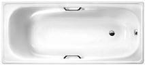 "White Wave Стальная ванна ""Italica 170"" с ручками"