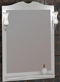 Opadiris Зеркало для ванной Тибет 75 белое