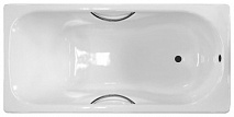 Универсал Ванна чугунная Сибирячка У 150x75 с отверстиями под ручки