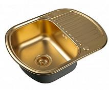 Zorg Кухонная мойка Inox PVD SZR-6249 BRONZE
