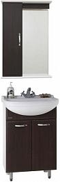 Водолей Мебель для ванной Классик 50 венге, зеркало-шкаф