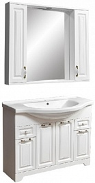 Stella Polare Мебель для ванной Кармела 100 ольха белая