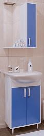 Corozo Мебель для ванной Колор 50, синяя