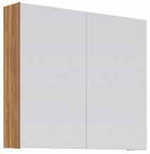 Aqwella Зеркало-шкаф для ванной МС 80 дуб сонома