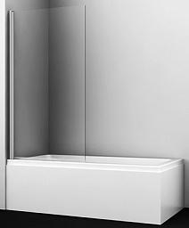 WasserKRAFT Шторка на ванну Berkel 48P01-80