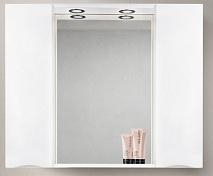 BelBagno Зеркало-шкаф MARINO-SPC-1000/750-2A-BL-P Bianco Lucido