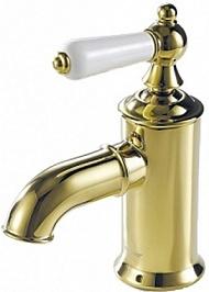Bravat Смеситель для раковины Art F175109G золото