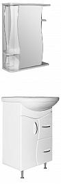 Mixline Мебель для ванной Классик 52 L (зеркало 55)