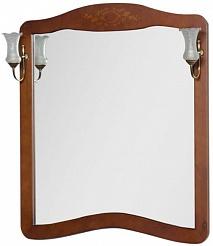 "Demax Зеркало для ванной ""Версаль NEW 110"" сerezo"