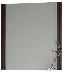 Водолей Зеркало для ванной Флоренц 75 венге