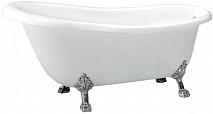 BelBagno Акриловая ванна BB04-CRM, ножки BB-LEG-LION-CRM