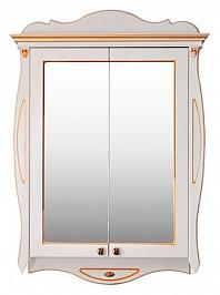 Атолл Зеркальный шкаф Ривьера 80 dorato