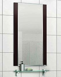 """Акватон Зеркало для ванной """"Ария 50"""" коричневое"""