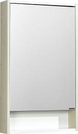 Акватон Зеркальный шкаф Рико 50 белый, ясень фабрик