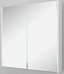 Velvex Зеркало-шкаф Klaufs 80 белый