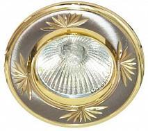 Feron Встраиваемый светильник DL248 титан-золото