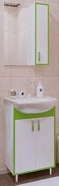 Corozo Мебель для ванной Спектр 50, зеленая