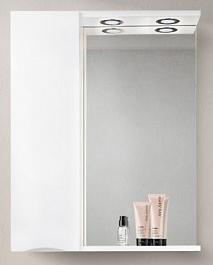 BelBagno Зеркало-шкаф MARINO-SPC-600/750-1A-BL-P-L Bianco Lucido
