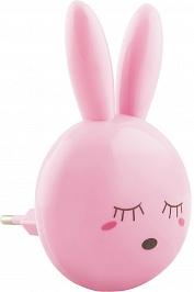 Feron Ночник Зайчик FN1168 0.5W 220V, розовый