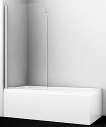 WasserKRAFT Шторка на ванну Leine 35P01-80