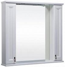 Bas Зеркало-шкаф для ванной Варна 105 белый