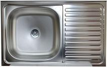 "КромРус Мойка кухонная S-416, 1.5"" левая"